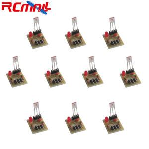 Sensore-laser-10Pcs-Ricevitore-Modulo-di-rilevamento-5V-non-Modulatore-tubo-per-Arduino