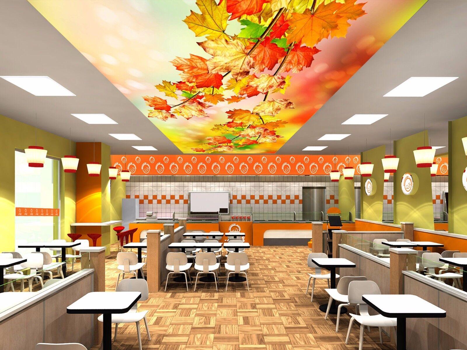 3D Herbst Ahornbltter 52 Fototapeten Wandbild Fototapete BildTapete DE Kyra