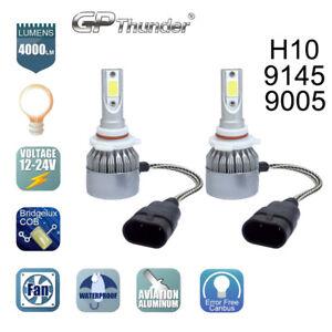 GP Thunder Cree LED Headlight H10 9145 9005 HB3 6000K Fog