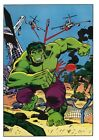 Vintage 1978 INCREDIBLE HULK Pin up Poster Marvel