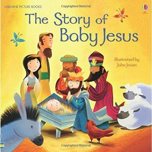 1 of 1 - (Good)-The Story of Baby Jesus (Usborne Picture Books) (Paperback)-Elizabeth Tan