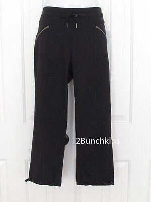 Athleta Metro Slouch Black Capri Pants $79 #438858 Nwt Sp S P Small Petite Buy Now Clothing, Shoes & Accessories