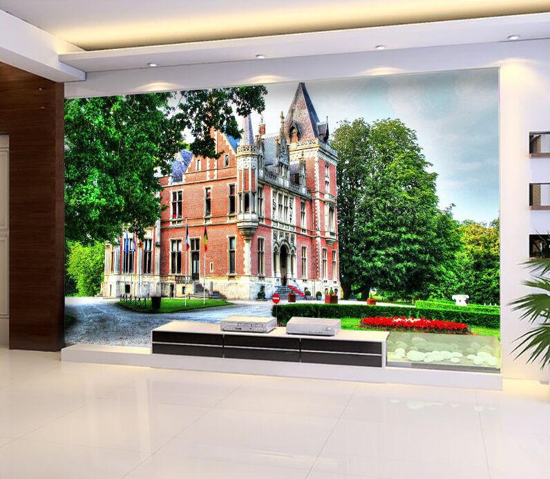 3D Castello 767 Parete Murale Foto Carta da parati immagine sfondo muro stampa
