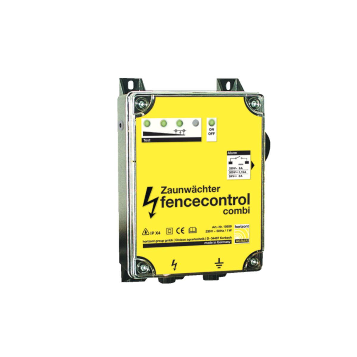 Horizont Zaunwächter fencecontrol 12 230 Volt Zaunkontrolle Zaunprüfer Prüfgerät