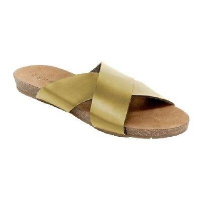 Black Esprit Womens Size 6 Bounty Footbed Sandal
