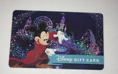 New Disney Gift Card Mickey Minnie Mouse FIREWORKS 2019 NO VALUE Collectible $0