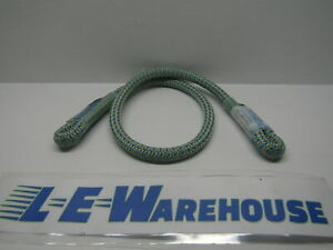 ALL-GEAR-3-8-034-X-28-034-EYE-TO-EYE-FRICTION-PRUSIK-DOUBLE-BRAID-POLY-6300LB-ANSI