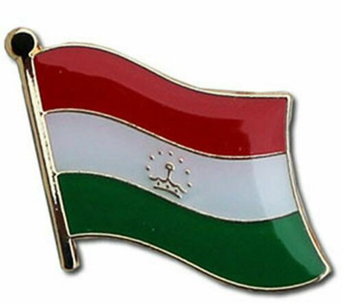 Tajikistan Country Flag Bike Motorcycle Hat Cap lapel Pin