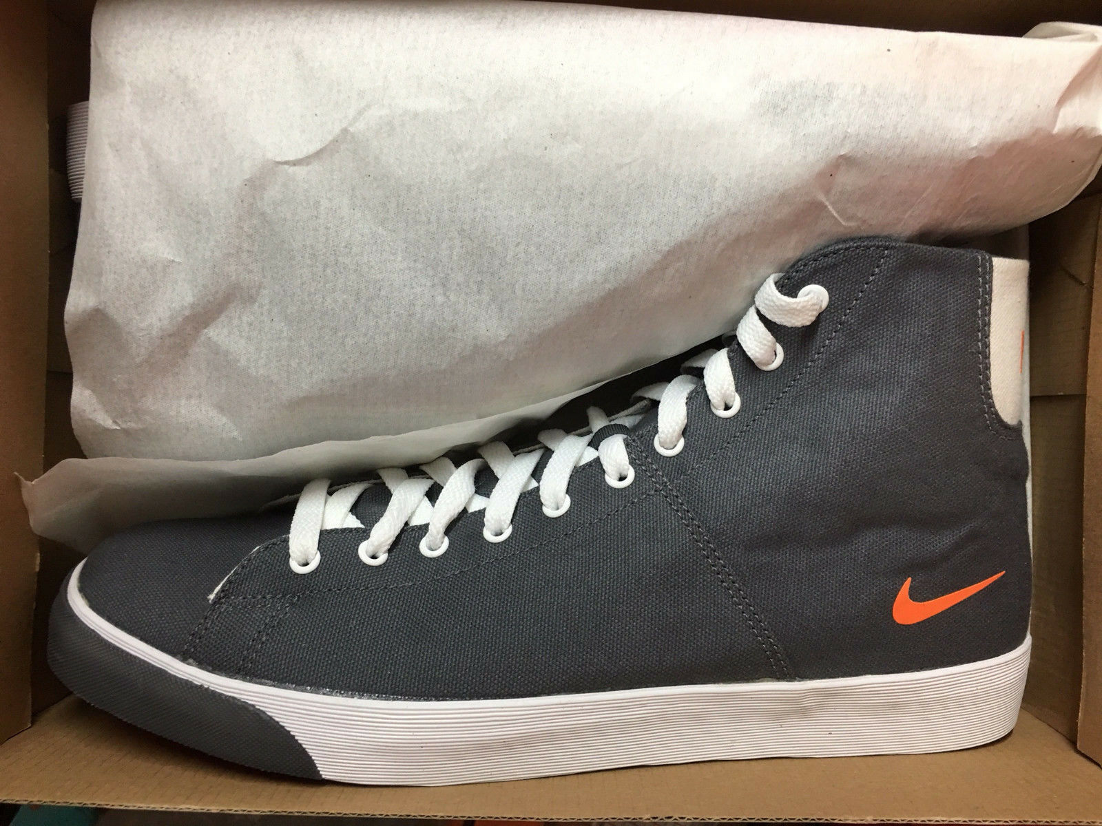 NIKE Player Canvas Textil High Hoch Neu Gr:46 US:12 Sommer Stiefel Sneaker