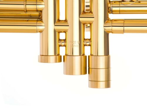 5 in 1 HEAVY custom parts Trumpet MODULE Bottom valve caps Raw Brass KGUBrass