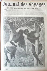 Zeitung-der-Voyages-Nr-662-von-1890-Manieren-Malaysia-Hochzeit-A-L-Baum