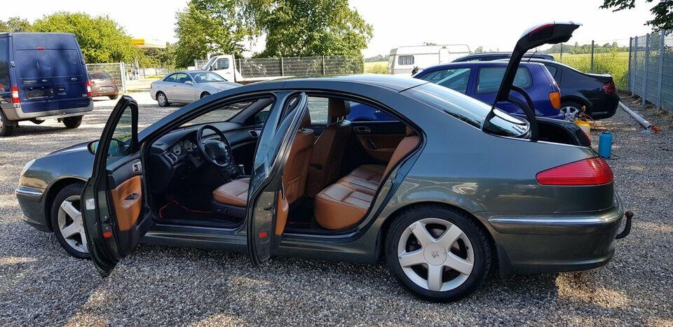 Peugeot 607 2,2 aut. Benzin aut. Automatgear modelår 2005