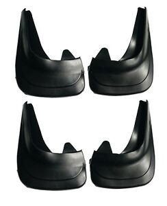 Front and Rear Universal Rubber Mud Flaps Splash Guard 01p