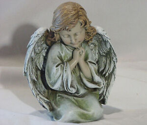 Kneeling-Praying-Angel-Cherub-Girl-Home-Garden-Decor-Statue-Christian-Figurine