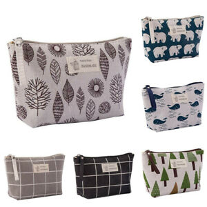 Makeup-Bag-Cosmetic-Storage-Pouch-Travel-Case-Wash-Toiletry-Organizer-Portable