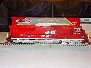 NIB-Rare-Williams-UPHERT-3-SD90-Diesel-Locomotive-MKT-THE-KATY-Cab-UP-1988