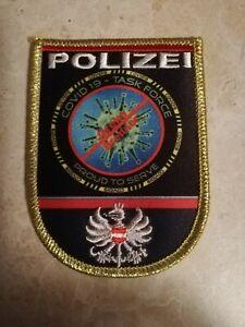 Cov19 Polizei Stoffabzeichen 3