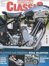MC0206 + BSA Sloper + MONDIAL 175 TV + Solitude 1952 + MoTORRAD CLASSIC 6 2002