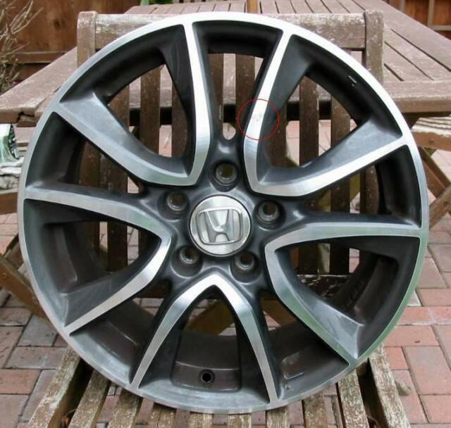 "Honda Civic 2010 17"" x 7J 55 Alloy Wheel No 2 Genuine Honda"