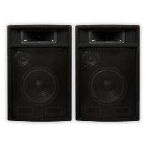 Acoustic-Audio-PA-380X-Passive-DJ-Speakers-8-034-PA-Karaoke-3-Way-Studio-Home-Audio