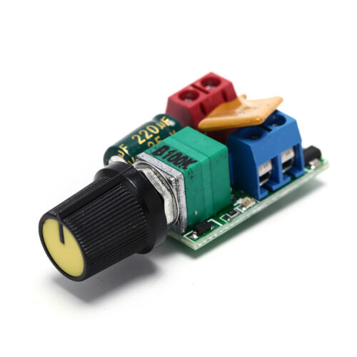 DC 5A PWM Speed Controller 3V-35V Speed Control Switch LED Dimmer RS