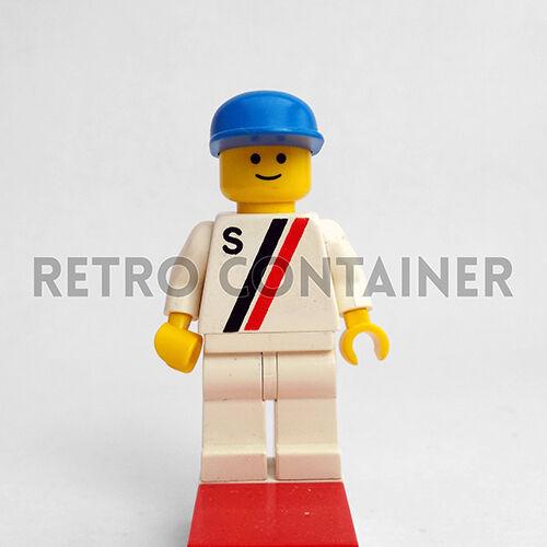 LEGO Minifigures s009 Driver Vintage Town Pilot Omino Minifig Set 6644