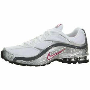Size 8.5 - Nike Reax Run 5 White Metallic Silver