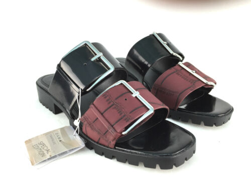 37 4 Zara Size 40 6 Eur 38 Flat Uk 39 Sandals 7 5 Black TwwBaqpUv
