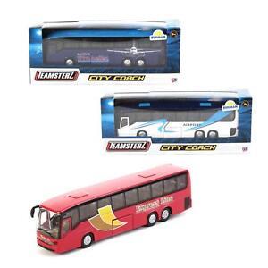 Toys & Hobbies Diecast & Toy Vehicles Honesty Teamsterz Moulé City Autobus Voyageurs Modèle 1370246 Jouet Voiture Véhicule