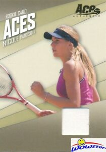 2007-Ace-Authentic-AC-2-Nicole-Vaidisova-MATCH-WORN-GAME-USED-JERSEY