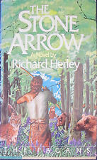 The Stone Arrow by Richard Herley (1978 Hardcover) 1st US Edition - The Pagans