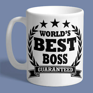 Image Is Loading WORLDS BEST BOSS MUG Ceramic Coffee Tea Cup