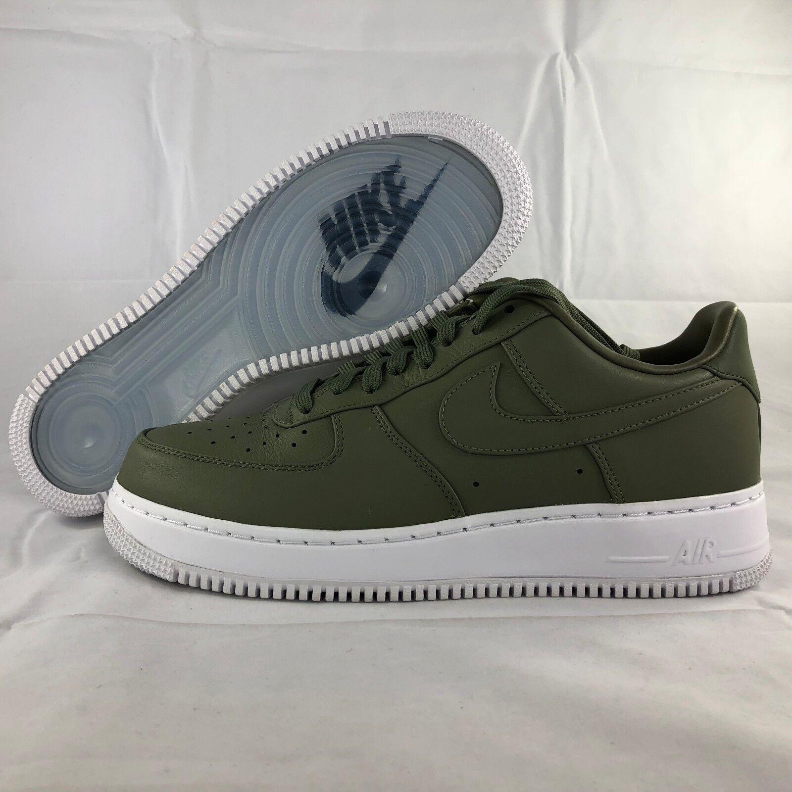 Nike NikeLab Air Force 1 Low Urban Haze Green White 555106-300 Men's 9.5-11 NEW Seasonal price cuts, discount benefits