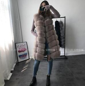 Donna Giacca Gilet Gilet Gilet Parka Inverno Outwear Novità Lungo Moda 7Fqdw7