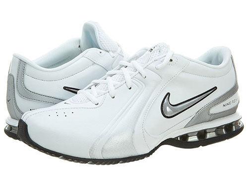 NIB homme Nike Reax 3 TR III SL fonctionnement Training chaussures Torch 333765 blanc