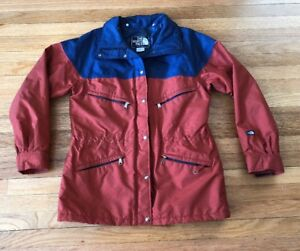 44f3dd581 Details about VTG 80s The North Face BROWN LABEL Gore Tex Parka Jacket Coat  Women's Large