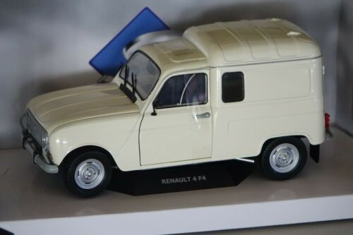 Renault R4L F4 cremeweiß 1:18 Solido 1802201 neu OVP