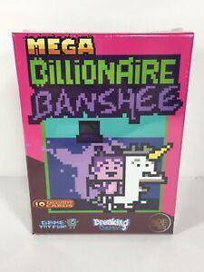 Mega Billionaire Banshee Board Card Game Brand New Sealed