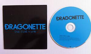 DRAGONETTE-Take-It-Like-A-Man-PROMO-DJ-CD-SINGLE-2007-Mercury-album-Galore