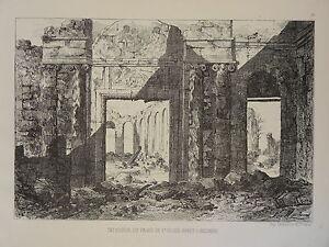 Gravure-GUERRE-1870-INCENDIE-PALAIS-de-SAINT-CLOUD-SIEGE-de-PARIS-NAPOLEON-III-b
