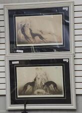 Two Louis Icart prints Lot 257