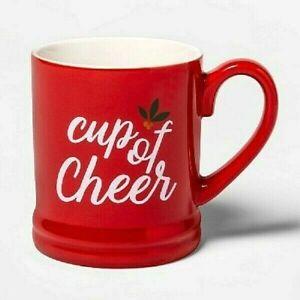 16oz Kitty Cat Stoneware Santa Claws Mug Winter Christmas Coffee Cup
