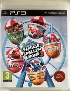 Hasbro Family Game Night Vol 3-ps3-Playstation 3 Volumen Brandneu Versiegelt