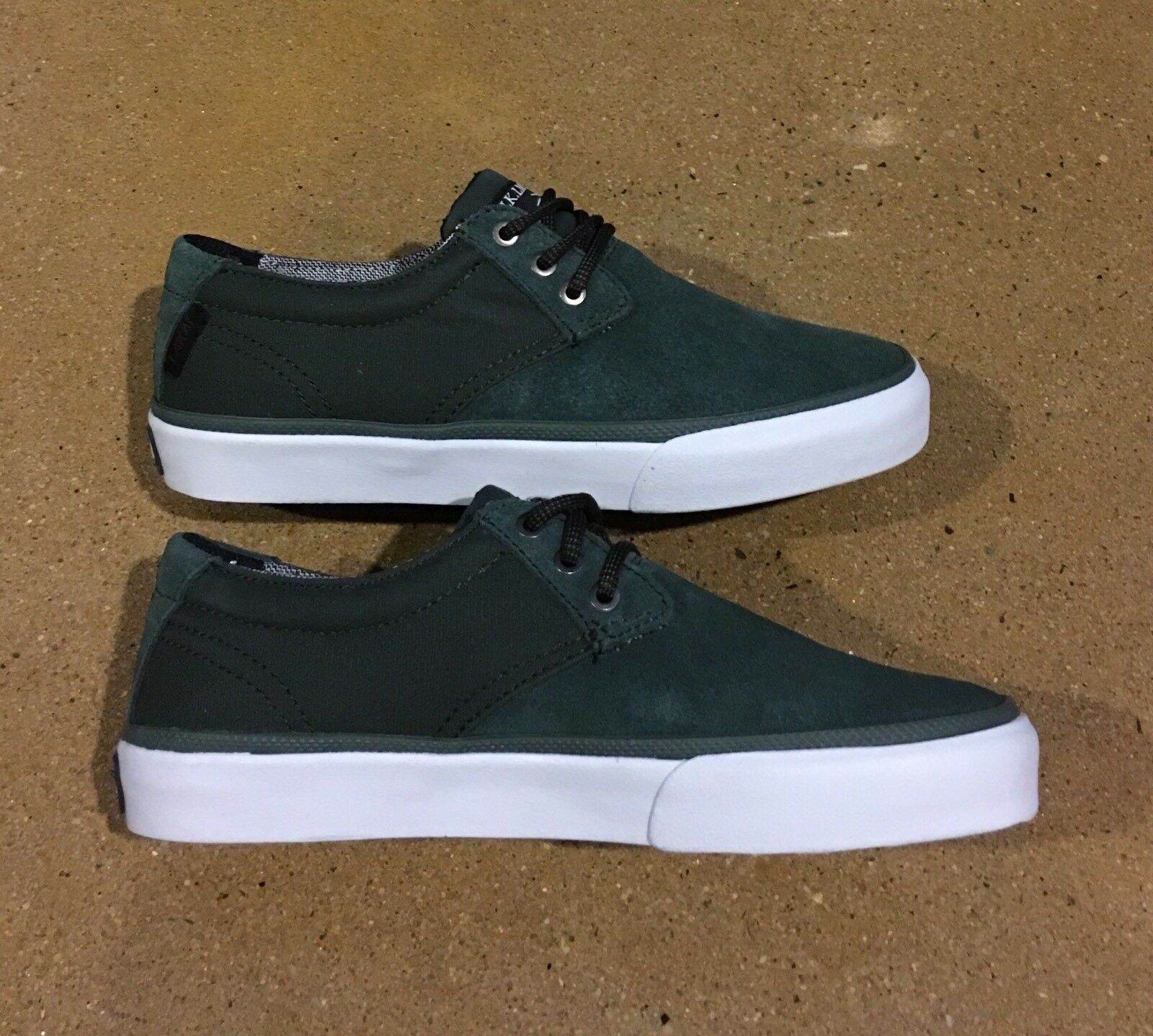 nous lakai daly olive daim taille 5 chaussures chaussures skate dc skate chaussures bmx f22c06