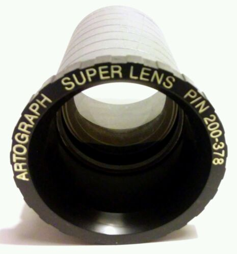RARE ARTOGRAPH SUPER LENS PN 200378 Tracing Copying Art Projector Lens Only