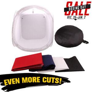 50cm Pop Up Photo Studio Cube Soft Box Light Tent Softbox Lighting Backdrop UK 6922421768014