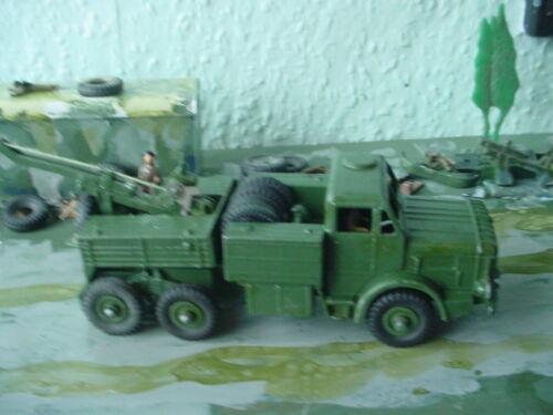 Dinky Militar Ejército Antar Vehículo de recuperación código 3