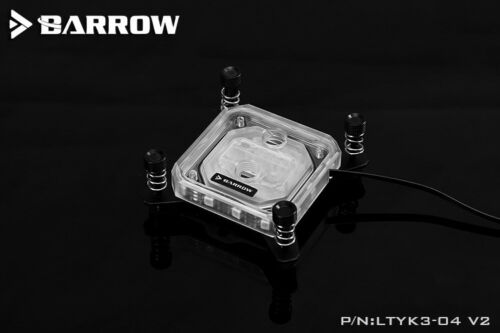 Barrow LTYK3-04 V2 CPU Water Cooling Block for Intel 115x 5v RGB