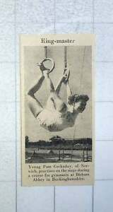 1953-Young-Pam-Cockaday-From-Norwich-Practising-On-The-Rings