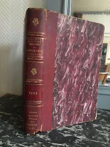 Charles Norman Notiziario Della Societè Amis Monumenti Parisiens 1888-89